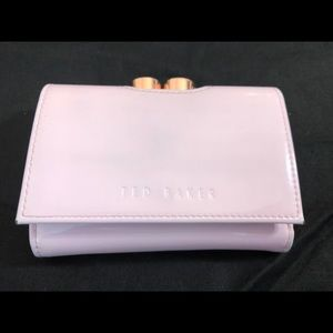 Ted Baker Patent Pink Wallet